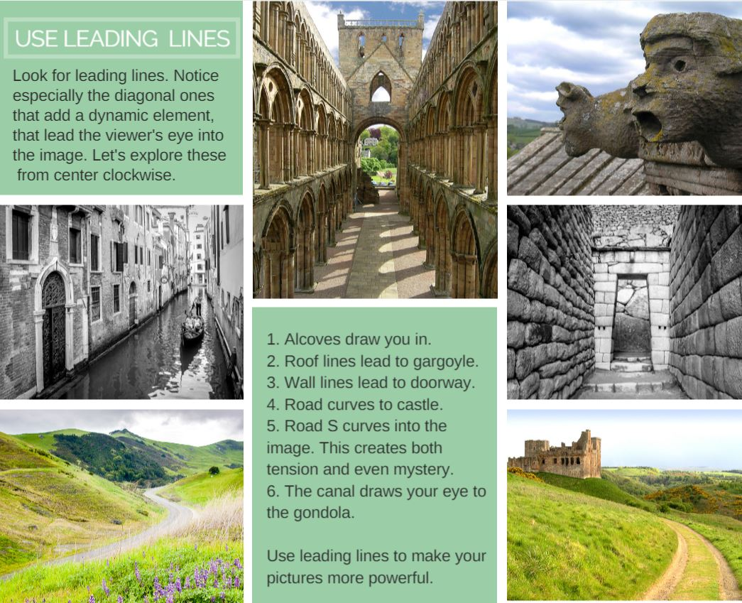 Photo Guide - Leading Lines