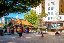 Chinatown on a food tour of Seattle's International District