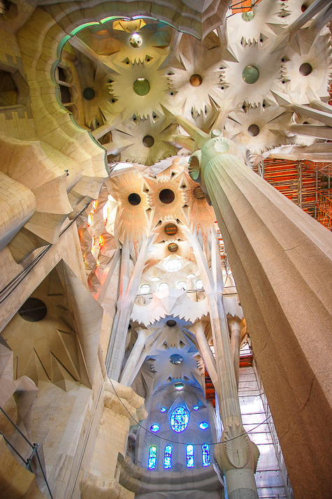 Use your words: Barcelona's La Sagrada Familia