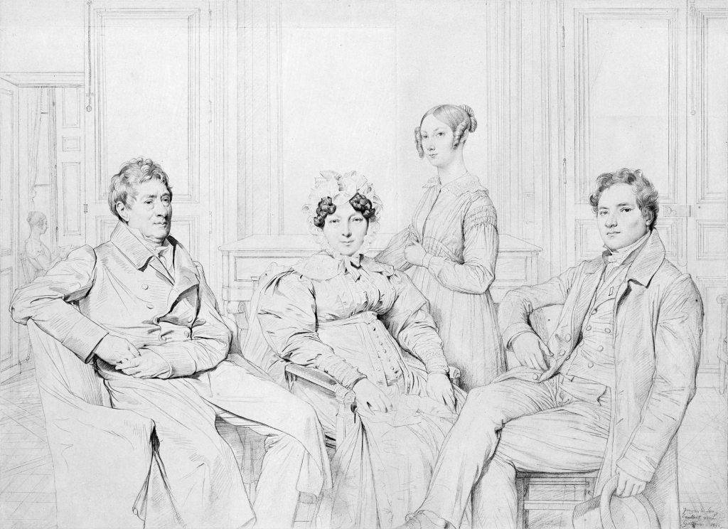 How to make your writing more interesting: Image of The Gatteaux Family by Ingres
