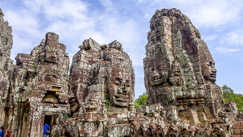 Why ruins fascinate us: Carved faces at Angkor Wat