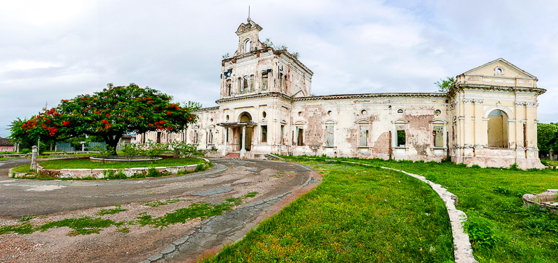 Why ruins fascinate us: the Hospital San Jaun de Dios - Granada, Nicaragua