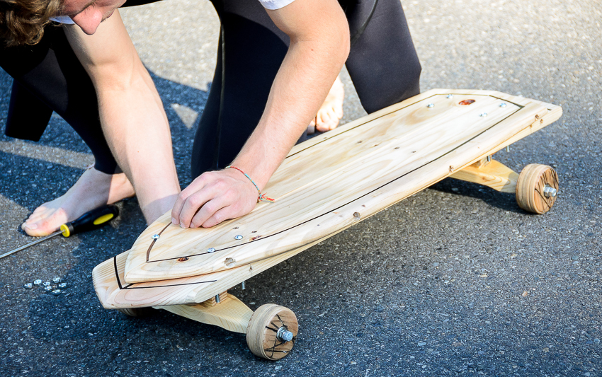 A meaningful trip: The Octo as a longboard