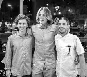 Creators, innovators and meaningful trips - Connor, Dane and Eric