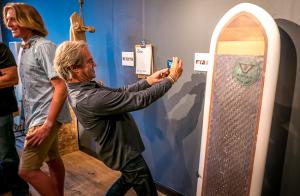 Paul photographing Dane's board
