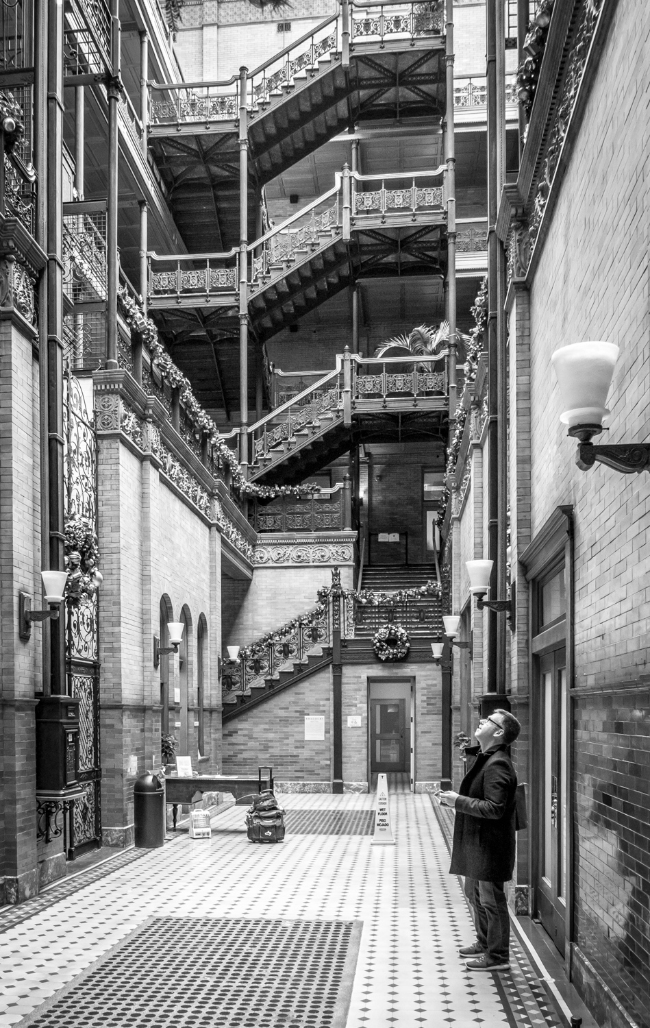 The photographer's DIY walking tour of downtown LA - the Bradbury Building
