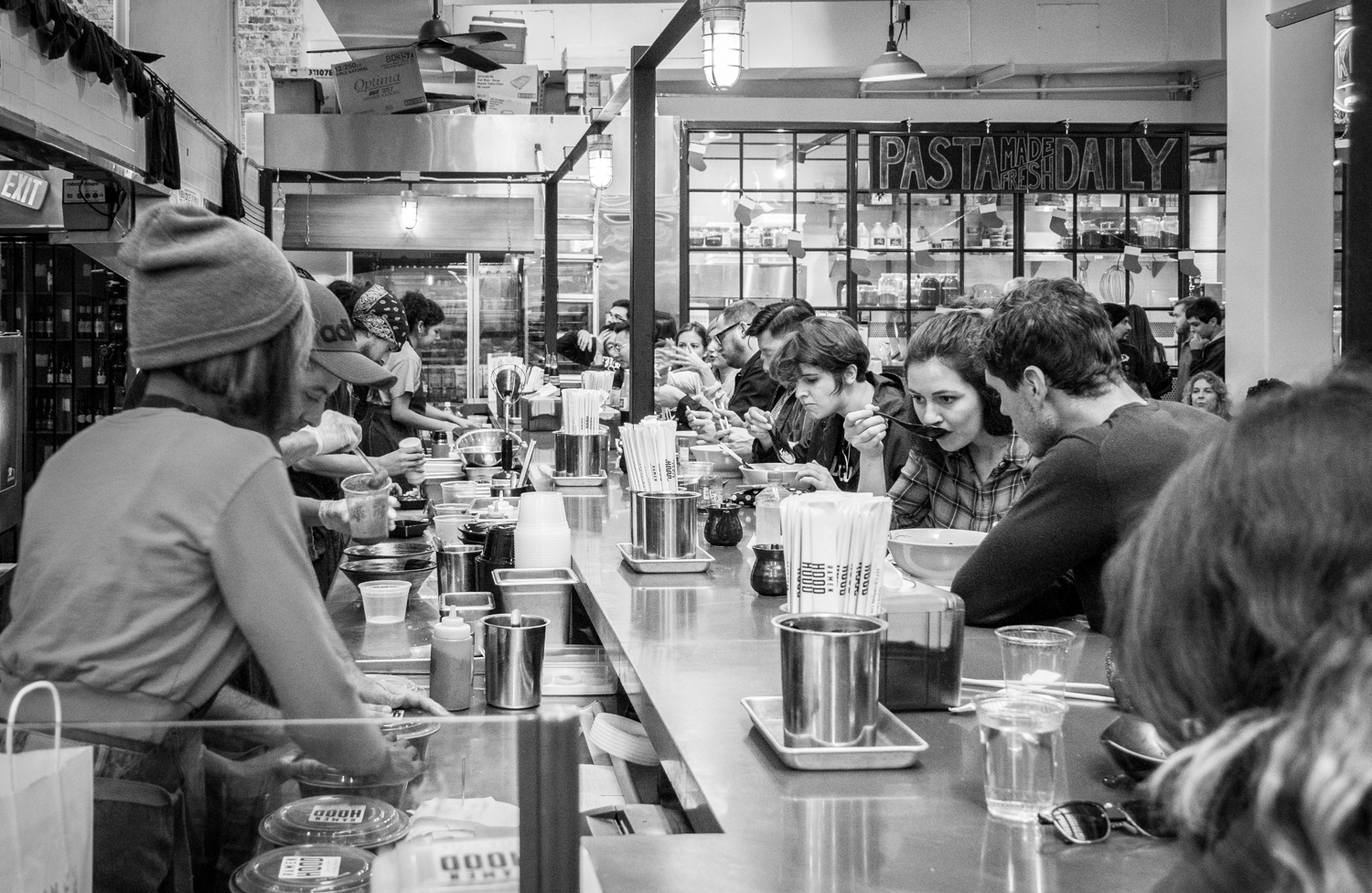 Photographer's DIY walking tour of downtown LA - Central Market Ramen