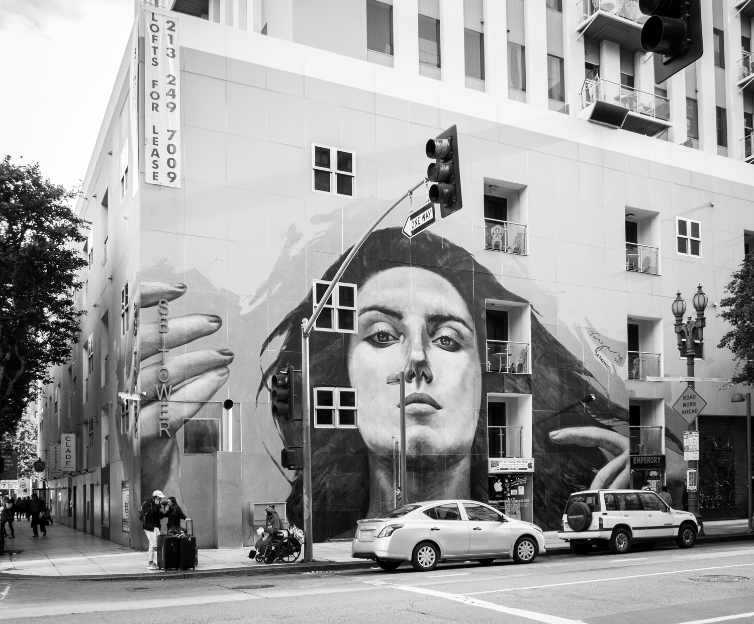 The photographer's DIY walking tour of downtown LA - mural