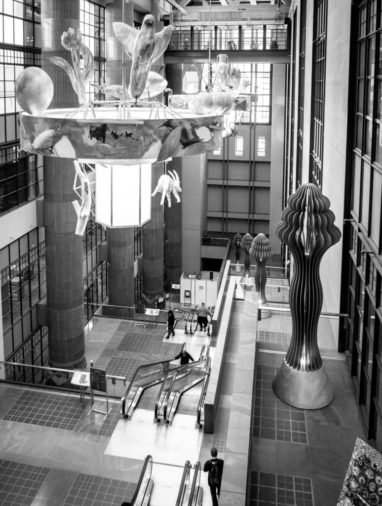 The photographer's DIY walking tour of downtown LA - Central Library Atrium