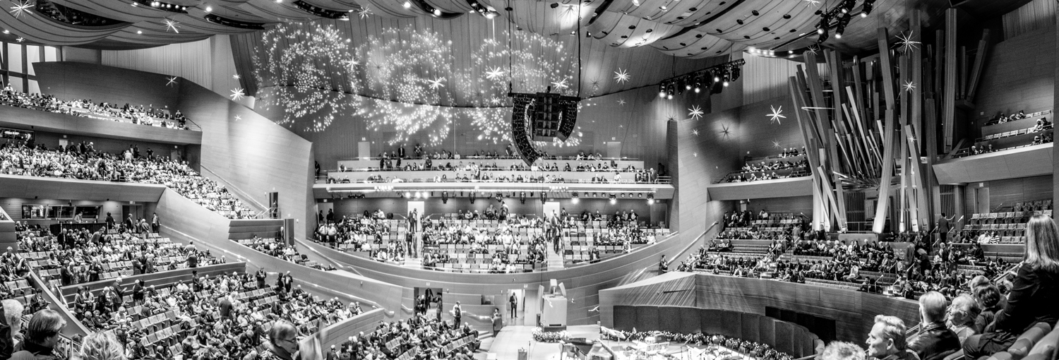 Disney Concert Hall Interior