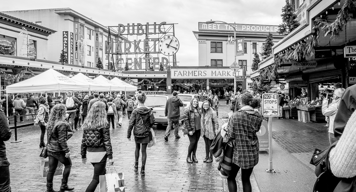 Make the most of a business trip: Pike Place Market, Seattle