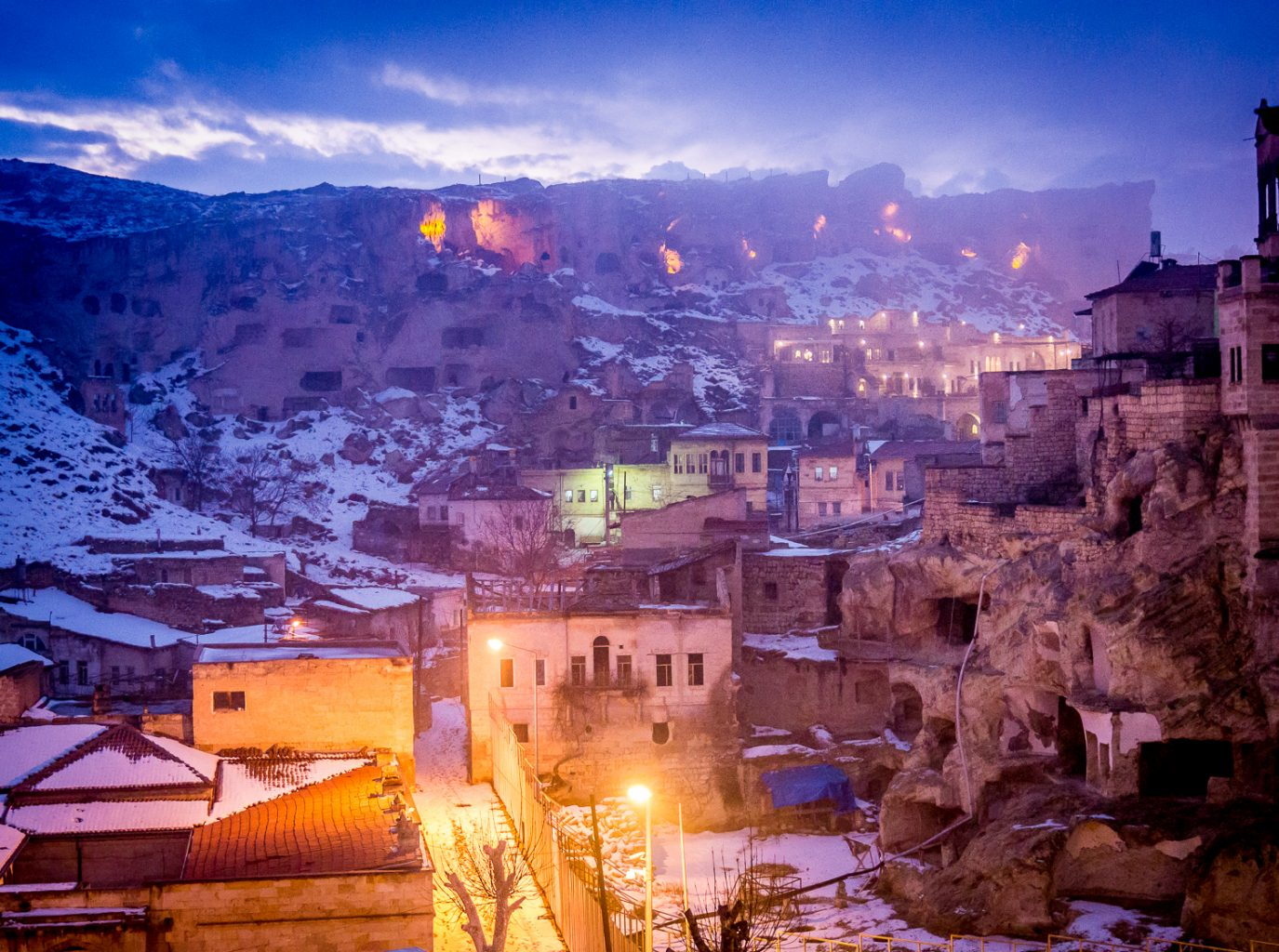 You could die here - Old Urgup, Cappadocia, Turkey