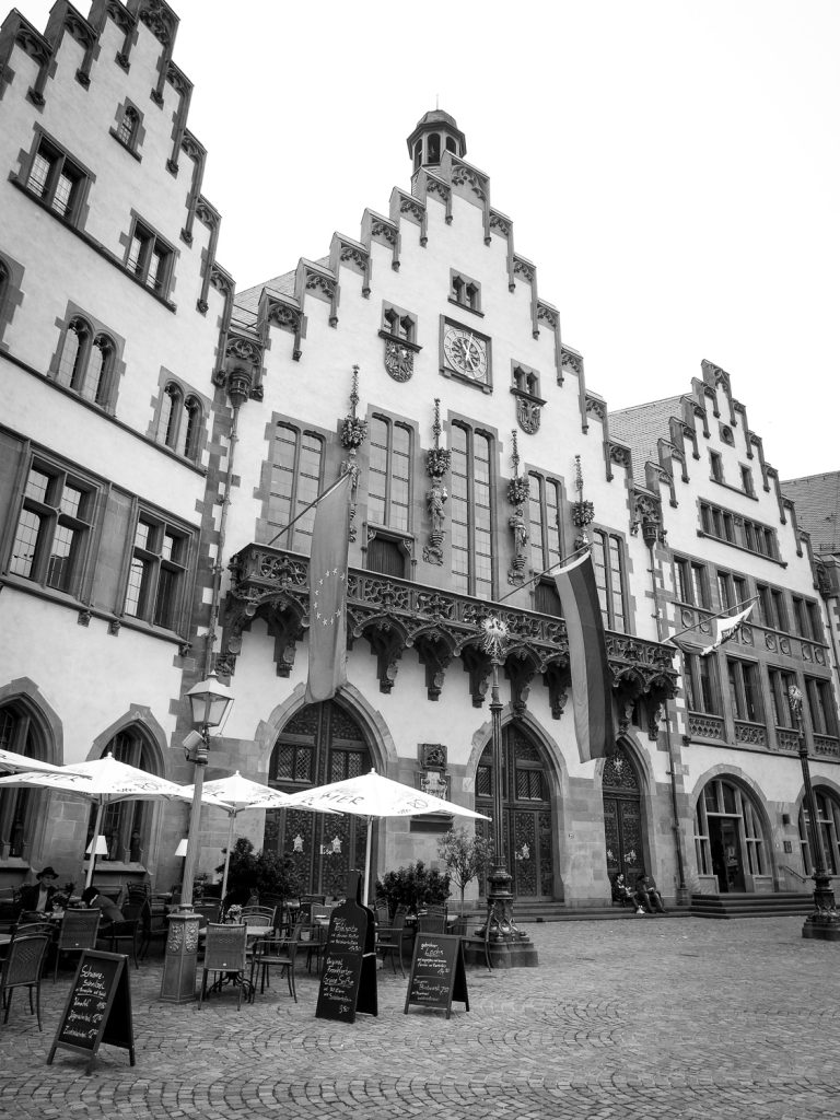 Frankfurt stopover - Roemerburg