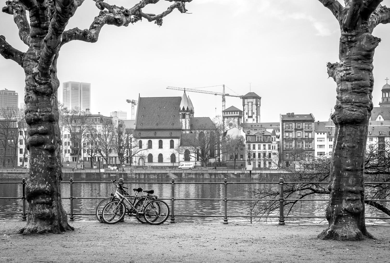 Frankfurt stopover: riverside