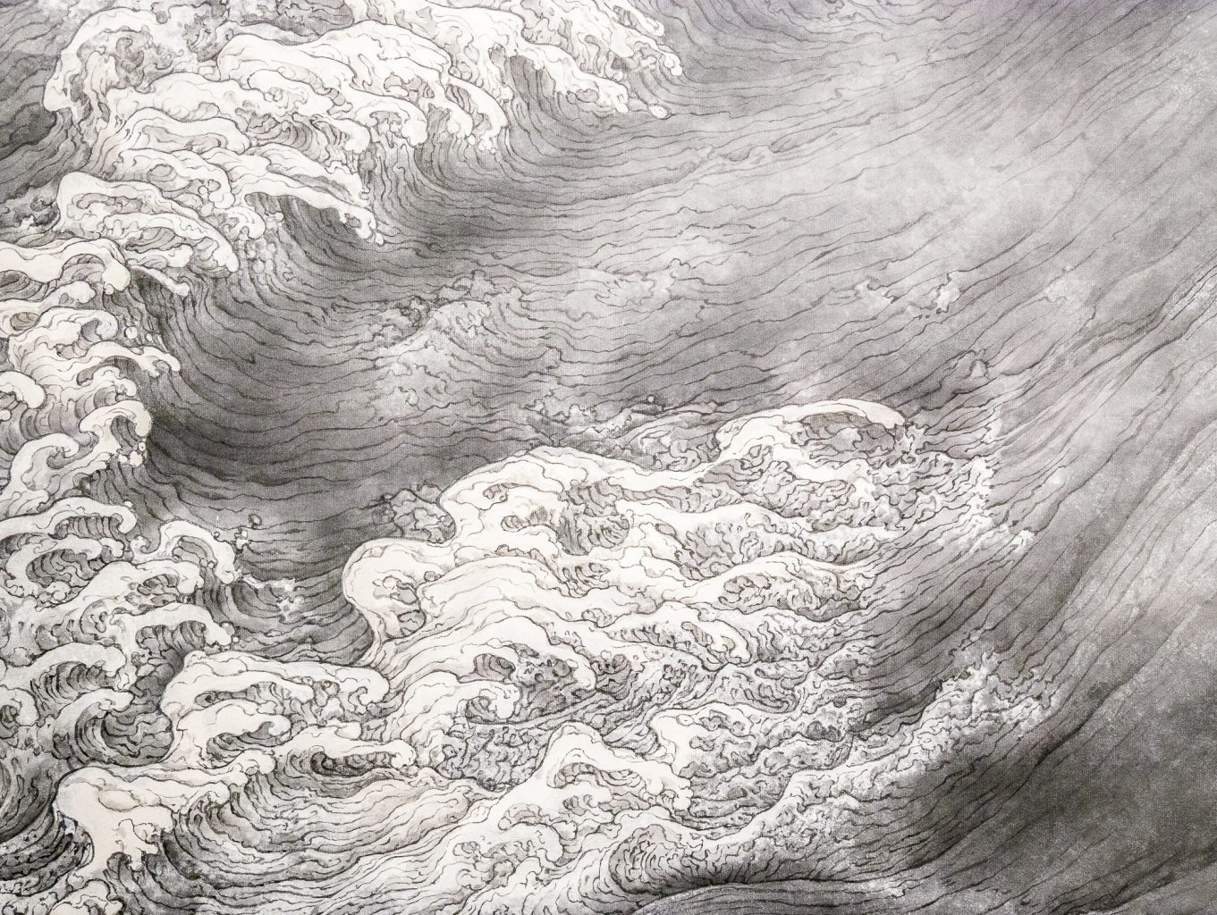 Li Huayi painting detail